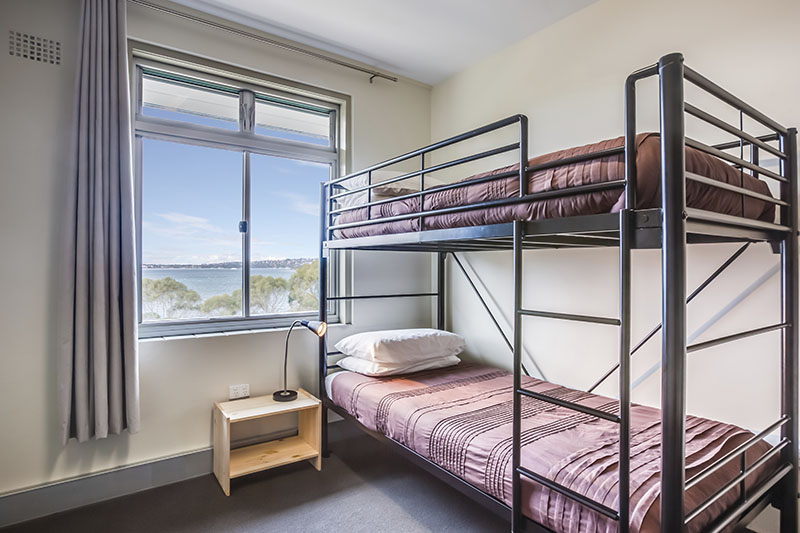 Chowder Bay, Sydney Harbour - accommodation facility for schools and groups