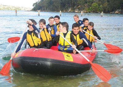 Sea Rafting