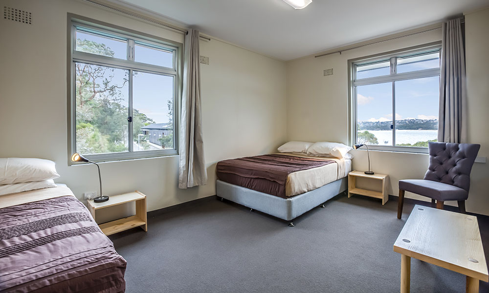 School and group accommodation, Sydney Harbour