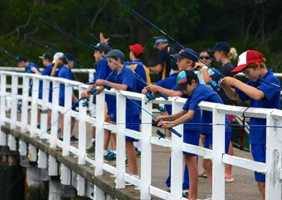 Fishing for outdoor education, Sydney
