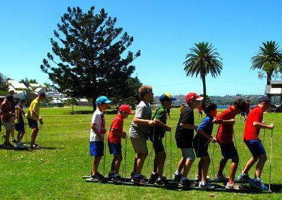 Group initiative activities for school children